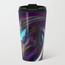 NEON Garrus - Fan Art Travel Mug