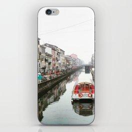 Milano Navigli - Italy iPhone Skin