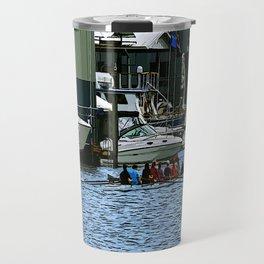 Rowers Lake Union Travel Mug
