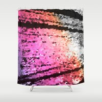 pastel Shower Curtains featuring pastel by 2sweet4words Designs