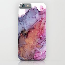 Petal Storm - Abstract Ink Painting iPhone Case