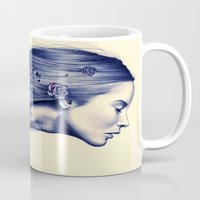 model Mugs featuring Bloom by KatePowellArt