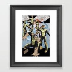 X-Men: First Class Framed Art Print