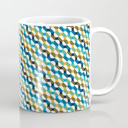 People's Flag of Milwaukee Mod Pattern Coffee Mug