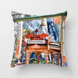 Avatar Airbender Throw Pillow