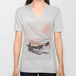 Day 25: The natural beauty of one thing leading to another. Unisex V-Neck