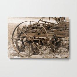Scarifier #2 Sepia Metal Print