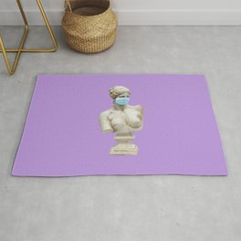 cover up purple Rug