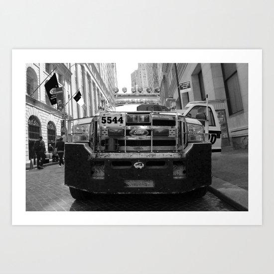 New York #02 Art Print