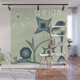 "Print illustration poster ""Orion"". Planet in space cosmos Wall Mural"