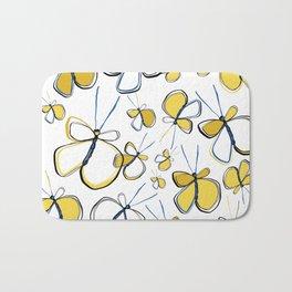 Happy Butterflies Bath Mat