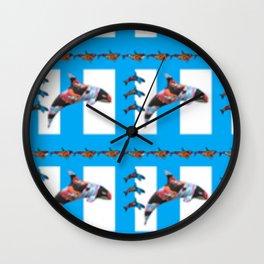 Killer Color 2 Wall Clock