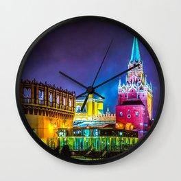 The Kremlin Kutafia Tower And Tourist Gate To The Kremlin Wall Clock