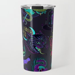 Neon Demons Travel Mug