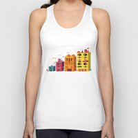 buildings Tank Tops featuring Buildings by Luis Pinto