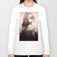lindsay lohan Long Sleeve T-shirts featuring LA - LOHAN by Tiaguh