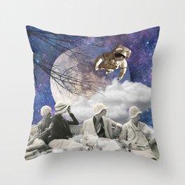 Clair de lune (moonlight) Throw Pillow