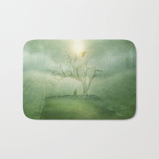 Greenery Sunrise Bath Mat