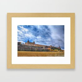 Ducal palace at Lerma, Castile and Leon. Spain. Framed Art Print