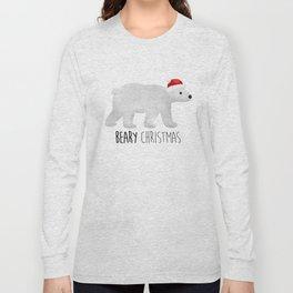 Beary Christmas | Polar Bear Long Sleeve T-shirt