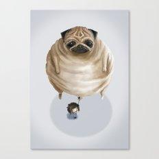The Pug Canvas Print