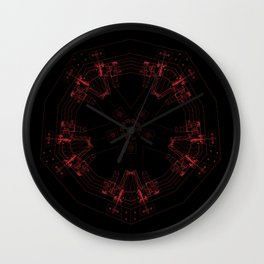 Detailed architectural node_3 Wall Clock