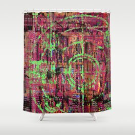 But What About King Lear? ... and His Jets? [Recombinant Series] Shower Curtain