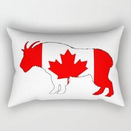 """Goat """"Canada"""" Rectangular Pillow"""