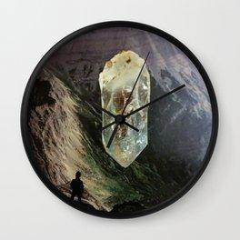 Crystal Canyon Wall Clock