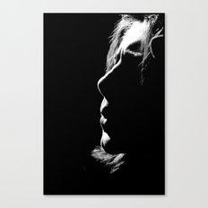 Whistling in the Dark Canvas Print