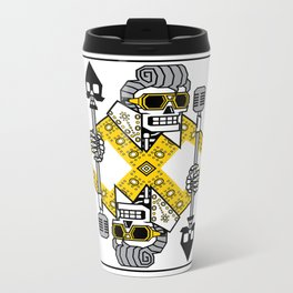 Dead King Card Metal Travel Mug