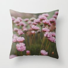 Pale Pink Throw Pillow