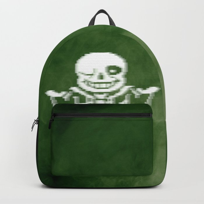 Undertale Sans (Megalovania) Backpack by gamingmerch12
