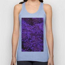 Purple Queen Anne's Lace Landscape Unisex Tank Top