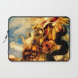 "Gustave Moreau ""La chute de phaéton (The Fall of Phaeton)"" Laptop Sleeve"