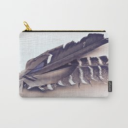 Sacred Smudging, Feather Fan Carry-All Pouch