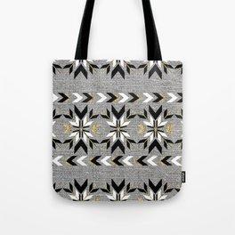 The Remix - Art Deco Fair Isle Tote Bag