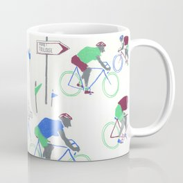 Race Riding  Coffee Mug