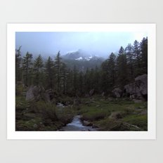 So Peaceful... Art Print