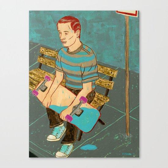 Sk8 or Die Canvas Print