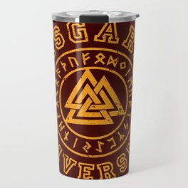 Asgard University Travel Mug