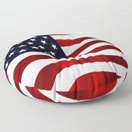 American Flag USA Floor Pillow