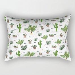 PLANTS ARE MY FRIENDS Rectangular Pillow