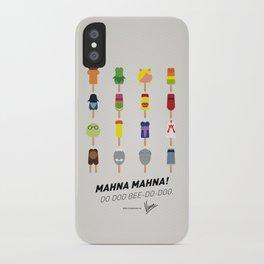 My MINIMAL ICE POPS univers III iPhone Case