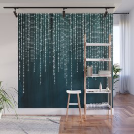 Lace and Lights Wall Mural