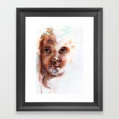 Face of Africa Framed Art Print