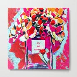 Perfume Pink Metal Print