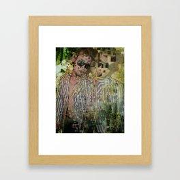 Materialized Framed Art Print