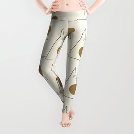 Merry Minimal 03 #society6 #xmas Leggings