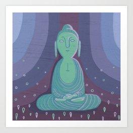 Buddha A Art Print